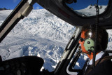 Our pilot flying low over Franz Josef