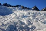Nearing the top of Franz Josef Glacier