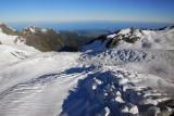Franz Josef and Fox are tongues off the main Tasman Glacier