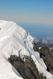 Glacier on the north side of Mount Tasman