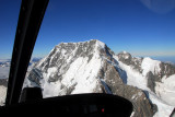 Summit of Mt Cook out of the helicopter