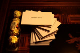 4 Ferrero Rocher and 100 Business cards