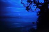 Lake Inari  midnight twilight1964