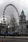 Belfast Wheel next to City Center