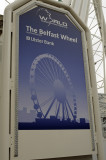 The Belfast Wheel placard