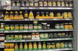 Honey on store shelves