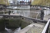 Upstream Lock Gates