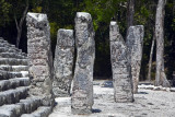 Calakmul Maya Archeological site Campeche Mexico