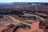 Classic view to the southwest from Dead Horse Point State Park