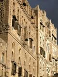 Old Sana'a houses - beautiful!