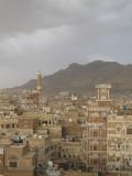 overlooking Sana'a