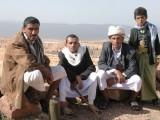 group of men posing for me