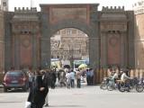 Sana'a - gate entrance to the Old City