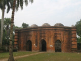the 9-Gumbaz (dome) mosque nearby