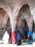 vaulted interior of Chhota Sona Mosque