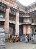 the sadly dilapidated Puthia Rajbari palace