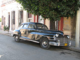 Old car in Cienf,