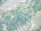 Destroyed village close to Geneina