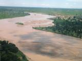 Geneina's Wadi filled with water