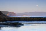 Moonrise Over Drake's Beach