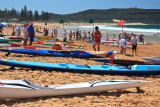 Surf carnival at Palm Beach, Sydney