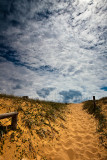 Sand dunes and sky