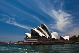 Sydney Opera House with good sky landscape