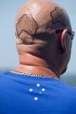 Man with tattoo of Australia