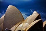 Sydney Opera House with topaz