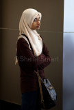 Schoolgirl in hijab