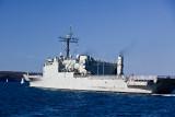 HMAS Kanimbla in Sydney Harbour