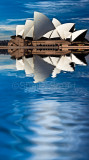 Sydney Opera House abstract