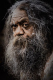 Cedric, portrait of an Australian aborigine