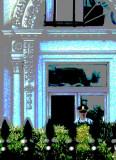 White House portico