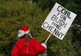 coal for Bush & Cheney