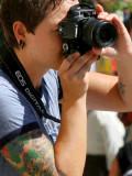 tatooed photographer