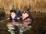 Cenote (underground river) snorkling trip