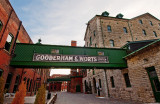The Distillery District in Toronto