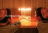 Gazing at the Chanukah Lights
