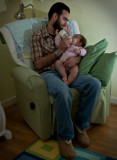Ava and Daddy in the rocking chair pt. 1