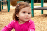 Ava at the park