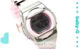 2010 NEW CASIO BABY-G G-MS MSG-163C MSG-163C-4 PINK
