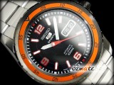 SEIKO 5 SPORTS AUTO DIVER SNZG73 SNZG73J1 BLACK JAPAN MD