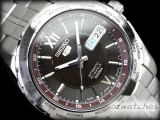 SEIKO 5 AUTOMATIC 100M SNZG59 SNZG59J1 BLACK JAPAN MADE