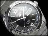 SEIKO 5 AUTOMATIC 100M SNZG61 SNZG61J1 BLACK JAPAN MADE