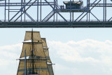 Tall Ships Visit Duluth Sailing Vessels Aerial Lift Bridge Canal Park