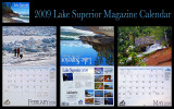 Lake Superior Magazine 2009 Calendar, Two Images Inside