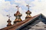 506 - Vintage Barn Roof Cupolas