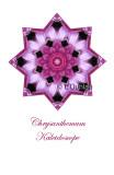 2 - Pink Chrysanthemum Kaleidoscope Card