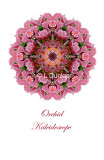 54 - Pink Orchid Kaleidoscope Card
